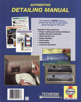 The Haynes Automotive Detailing Manual