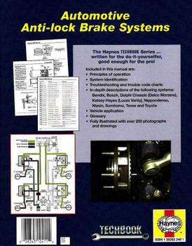 Autimotive Anti-Lock Brake Systems (ABS) Techbook
