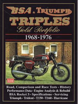 BSA & Triumph Triples Gold Portfolio 1968 - 1976