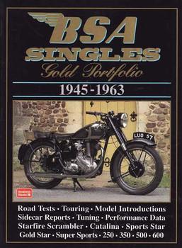 BSA Singles Gold Portfolio 1945 - 1963