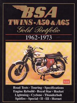 BSA Twins A50 & A65 Gold Portfolio 1962 - 1973