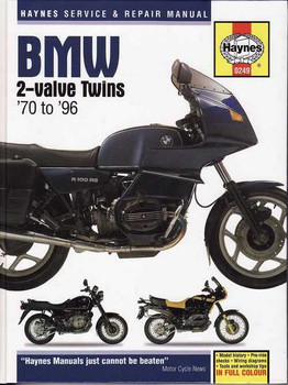 BMW 2-Valve Twins R Series 1970 - 1996 workshop manual