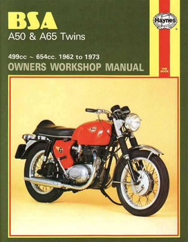 BSA A50 and A65 Twins 1962 - 1973 Workshop Manual