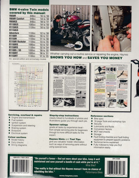 BMW R850 And 1100 4 - valve Twins 1993 - 2006 Workshop Manual (9781785212826)