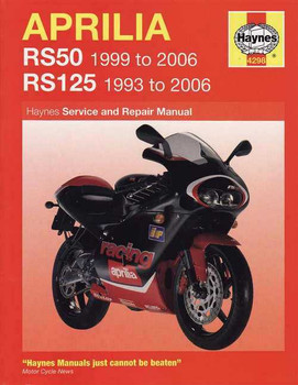 Aprilia RS50 & RS125 1993 - 2006 Workshop Manual
