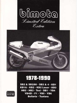 Bimota Limited Edition Extra 1978 - 1990