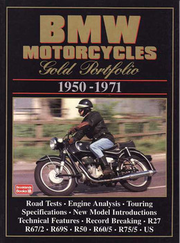 BMW Motorcycles Gold Portfolio 1950 - 1971