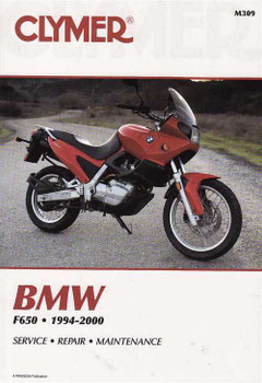 BMW F650 1994 - 2000 Workshop Manual