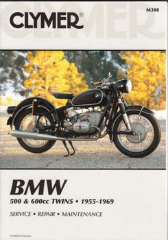 BMW 500cc, 600cc Twins 1955 - 1969 Workshop Manual