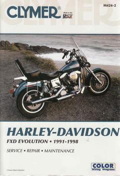Harley-Davidson FXD Revolution 1991 - 1998 Workshop Manual (9780892878710)