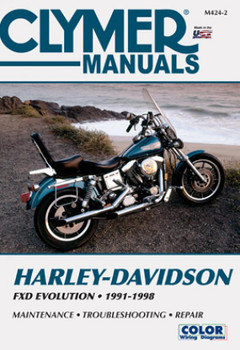 Harley-Davidson FXD Evolution Motorcycle (1991-1998) Clymer Repair Manual