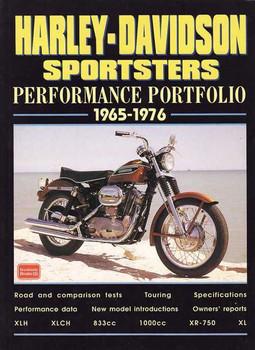 Harley-Davidson Sportsters Performance Portfolio 1965 - 1976