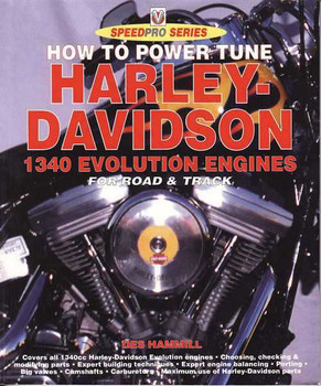 How to Power Tune Harley-Davidson 1340 Evolution Engines For Road & Track