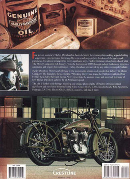 Harley-Davidson: History and Mystique