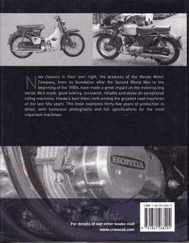 Honda Production Motorcycles 1946 - 1980