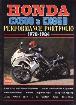 Honda CX500 & CX650 Performance Portfolio 1978 - 1984