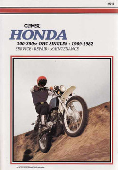 Honda 100 - 350cc OHC Singles 1969 - 1982 Workshop Manual