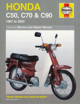 Honda C50, C70 and C90 1967 - 2003 Workshop Manual