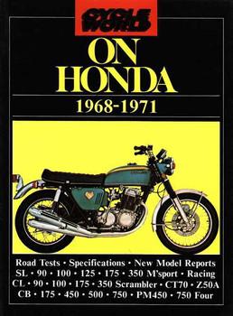 Cycle World On Honda 1968 - 1971