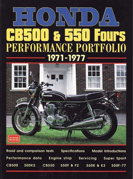 Honda CB500 & 550 Fours Performance Portfolio 1971 - 1977