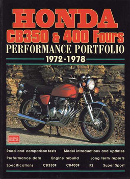 Honda CB350 & 400 Fours Peformance Portfolio 1972 - 1978