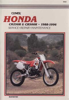 Honda CR250R & CR500R 1988 - 1996 Workshop Manual