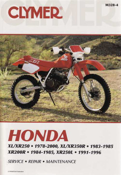 Honda XL250 XR250 XL350R XR350R XR200R XR250L 1978 - 2000 Workshop Manual