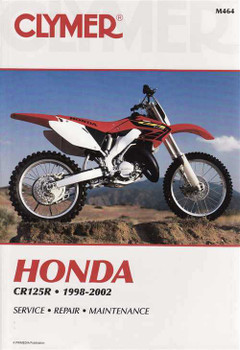 Honda CR125R 1998 - 2002 Workshop Manual