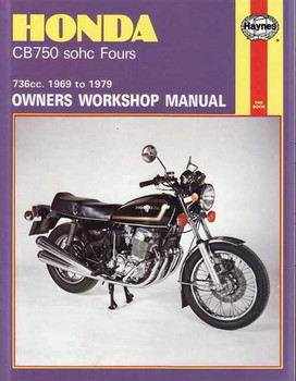 Honda CB750 SOHC Fours 736cc 1969 - 1979 Workshop Manual