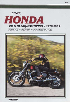 Honda CX500 & GL500 / CX650 & GL650 Twins 1978 - 1983 Workshop Manual