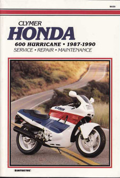 Honda 600 Hurricane 1987 - 1990 Workshop Manual