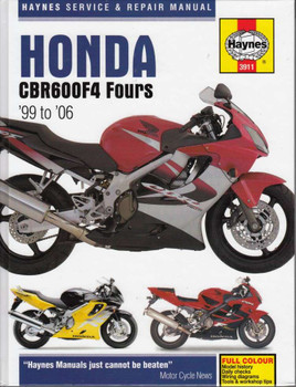 Honda CBR600F4 Fours 1999 - 2006 Workshop Manual
