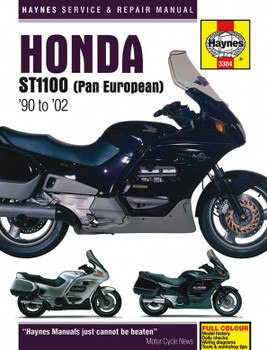Honda ST1100 (Pan European) 1990 - 2002 Haynes Workshop Manual