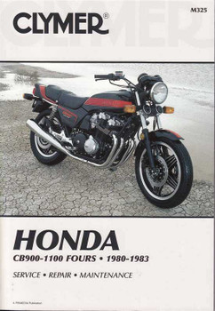 Honda CB900, CB1000 and CB1100 Fours 1980 - 1983 Workshop Manual