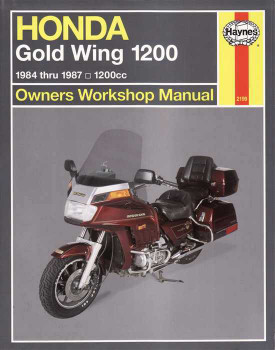 Honda Gold Wing GL1200 ( 1200cc ) 1984 - 1987 Workshop Manual