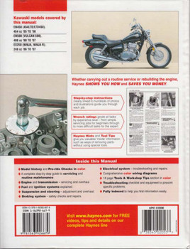 kawasaki vulcan 500 ltd full service repair manual 1996 2008