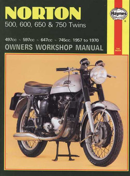 Norton 500, 600, 650 & 750 Twins 1957 - 1970 Workshop Manual