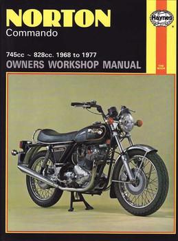 Norton Commando 745cc, 828cc 1968 - 1977 Workshop Manual