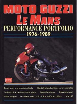 Moto Guzzi Le Mans Performance Portfolio 1976 - 1989