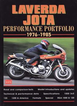Laverda Jota Performance Portfolio 1976 - 1985