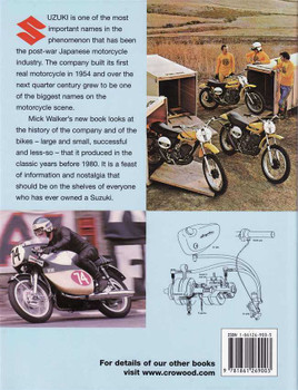 Suzuki Production Motrcycles 1952 - 1980