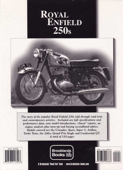 Royal Enfield 250s Limited Edition Extra 1956 - 1967