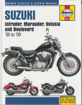 Suzuki intruder, Marauder, Volusia and Boulevard Workshop Manual
