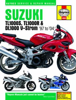 Suzuki TL1000S/R & DL1000 V-Strom (97 - 04) Haynes Repair Manual