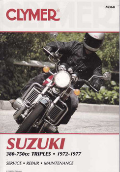 Suzuki GT380, GT550, GT750 Triples 1972 - 1977 Workshop Manual
