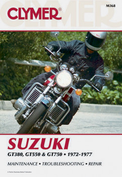 Suzuki GT380/550/750 Motorcycle (1972-1977) Service Repair Manual
