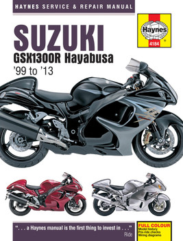 Suzuki GSX1300R Hayabusa 1999 - 2013 Workshop Manual