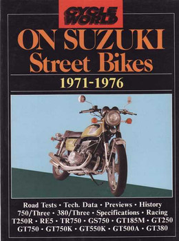Cycle World On Suzuki Street Bikes 1971 - 1976