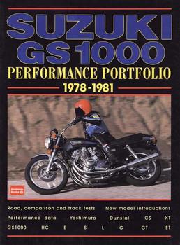 Suzuki GS1000 Performance Portfolio 1978 - 1981