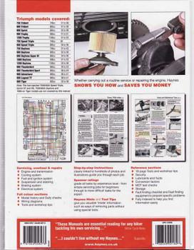Triumph Triples & Fours (carburettor engines) 1991 - 2004 Workshop Manual
